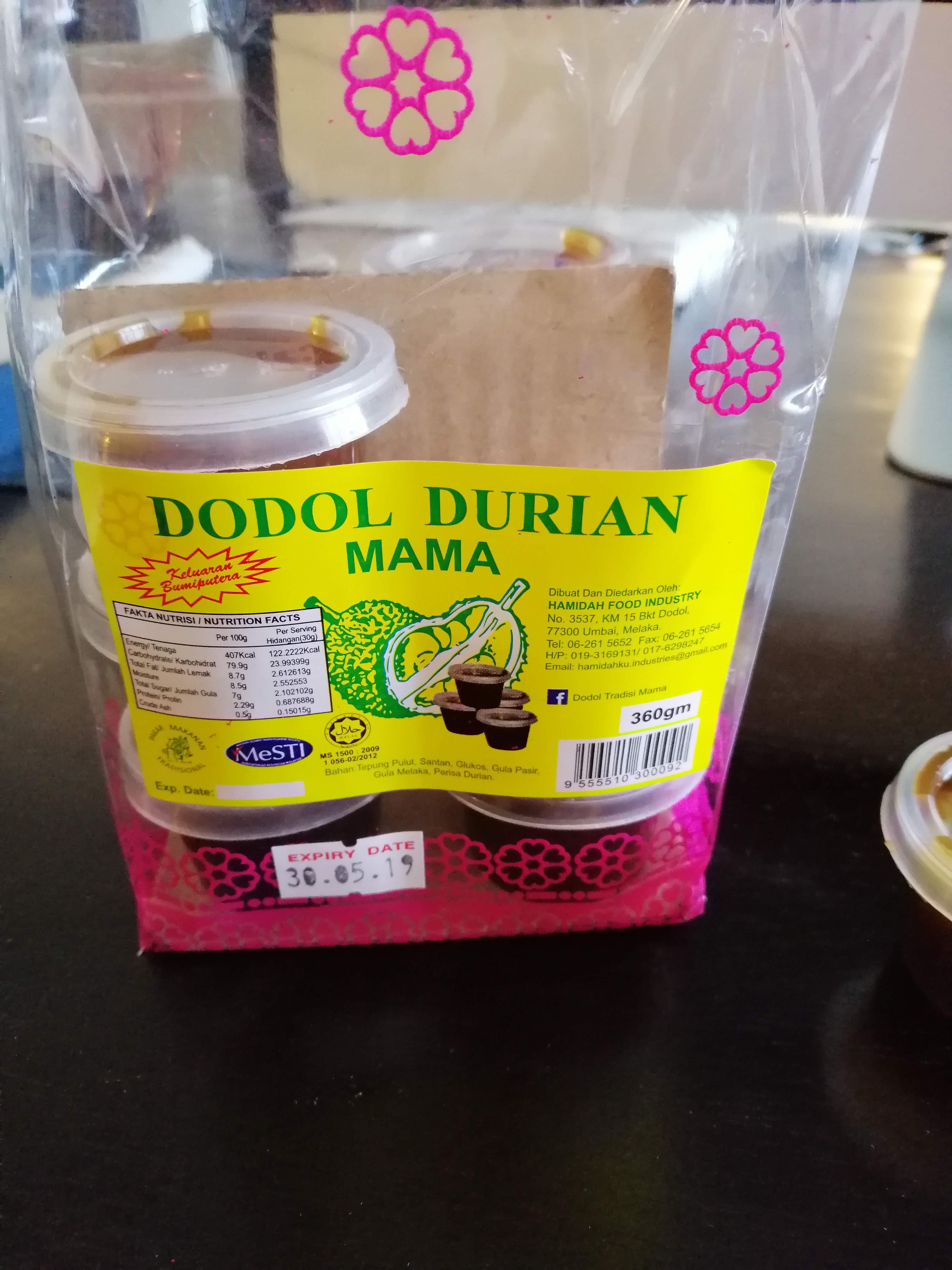 Dodol Durian Mama