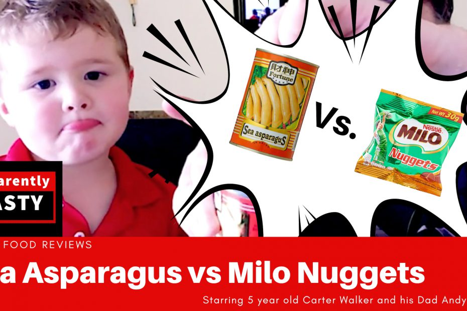 sea asparagus vs milo nuggets