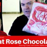 Kitkat Rose taste test
